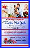 Image: The New Fertility Diet Guide: Delicious Food Secrets To Help You Get Pregnant Faster At Any Age, by Niels H. Lauersen and Colette Bouchez. Publisher: Ivy League Press (September 21, 2009)