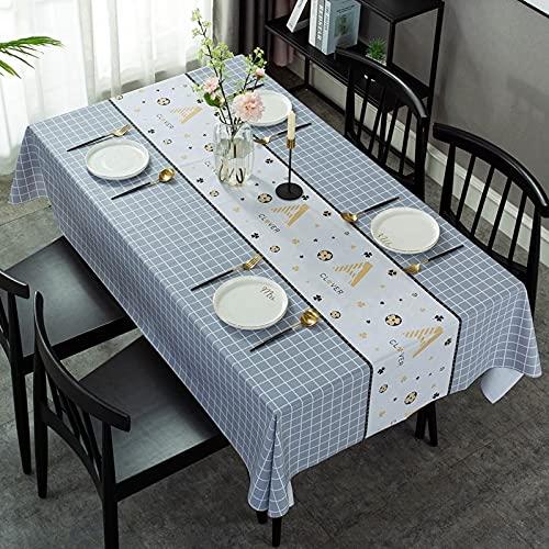 sans_marque Manteles, utilizados para mesas de interior y exterior, manteles - manteles de cena sólidos para bodas, restaurantes, cafeterías, 120 cm redondos