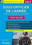 Sous-officier de l'armée - Armée de terre - Armée de l'air - Marine nationale: 2021