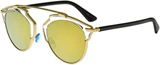 New Christian Dior SO REAL U5S/K1 gold crystal black/gold mirror Sunglasses