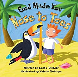 God Made You Nose To Toes Book