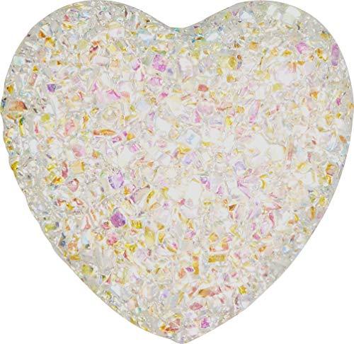Crocs Iridescent Heart Shoe Decoration Charms, Multicolour (Multicolour), One Size