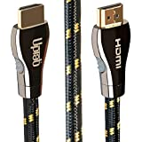 HDMI 2.1 8K Ultra High Speed Cable 8K 60Hz HDR 48Gbps eARC VRR Compatible with Dolby Vision Dolby Atmos Apple TV Roku Netflix PS4 Pro Xbox One X Samsung Sony LG (6FT)