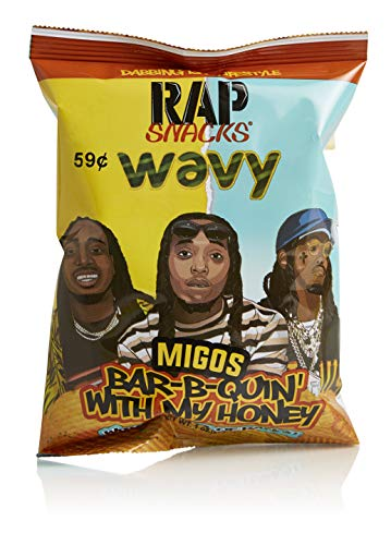 Rap Snacks, BBQ & Ranch, Migos, 1 oz, Pack of 10