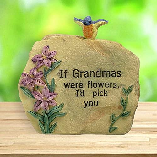 Garden Rock for Grandma Love