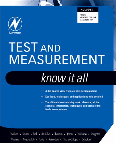 Test and Measurement: Know It All (Newnes Know It All) (English Edition)
