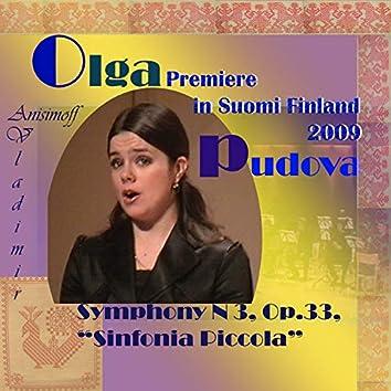 Olga Pudova: Premiere in Suomi Finland 2009 (Live)