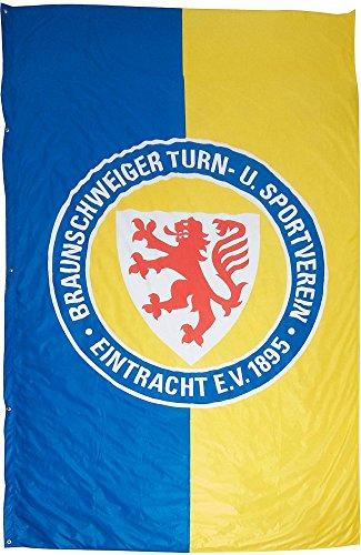 Hissflagge Eintracht Braunschweig Logo XL - 175 x 300 cm + gratis Aufkleber, Flaggenfritze®