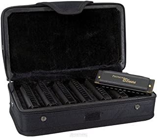 Hohner Piedmont Blues - Diatonic Harmonica - 10 Hole - 7 Pack Key A,Bb,C,D,E,F,G
