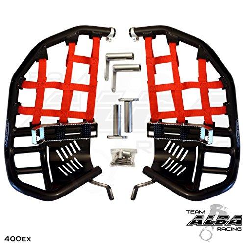 ATV Nerf Bar Net for Honda Trx 400ex TRX 450R Nerf Bar Replacement Black Webbing KEMIMOTO