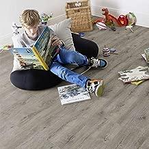 Vinilo autoadhesivo laminado Gerflor para el suelo con efecto de madera pacana rústica, marca Senso