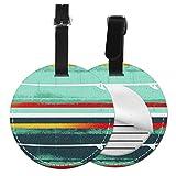 Etiquetas para Equipaje Bolso ID Tag Viaje Bolso De La Maleta Identifier Las Etiquetas Maletas Viaje Luggage ID Tag para Maletas Equipaje Plantilla de Tabla de Banderas de Tabla de Surf