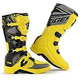 Tobillo Protección Anti Slip Moto blindado Boots - Hombres