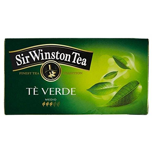 Sir Winston Tea Tè Verde, 24 Bustine, 42g