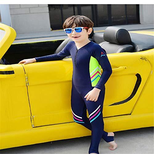 BABIFIS Kinder Een Stuk Badpakken Meisje Jongens Badpakken Een Stuk Passen Voor Jongens Strand Draag Meisje Badmode Lange Mouw