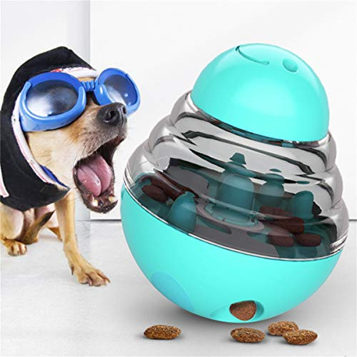 Sweenaly Hundespielzeug mit Trinkbecher, Leckage Ball, Spielzeug für Hunde, fördert IQ Training