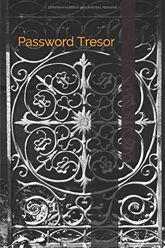 Password Tresor: Notitzbuch für Passwörter