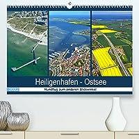 Heiligenhafen - Ostsee (Premium, hochwertiger DIN A2 Wandkalender 2022, Kunstdruck in Hochglanz): Rundflug ueber Heiligenhafen! Die andere Sichtweise! (Monatskalender, 14 Seiten )