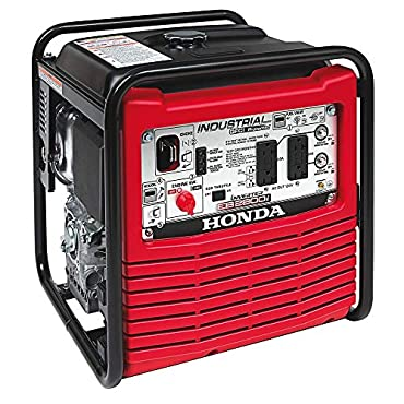 Honda EB2800i Gasoline Powered Portable Industrial Inverter 2,800-Watt Generator with Eco-Throttle and Oil Alert