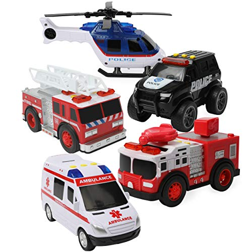 Top Right Toys Fire Engine Ambul...