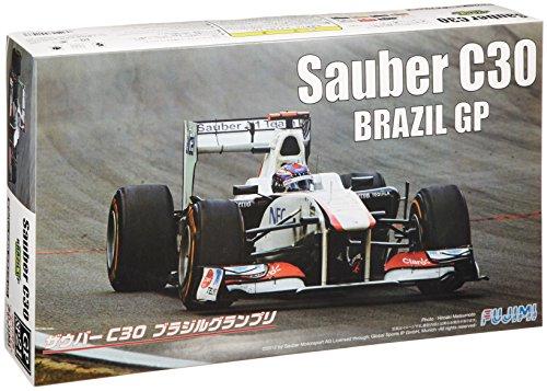 1/20 グランプリシリーズ SPOT-21 ザウバーC30 ブラジルGP 1/8 ヘルメット付き