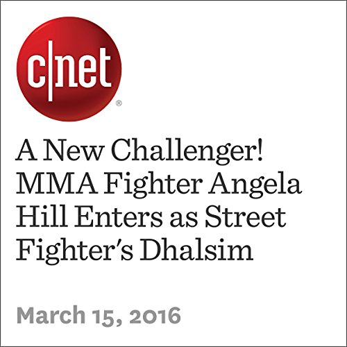 A New Challenger! MMA Fighter Angela Hill Enters as Street Fighter's Dhalsim cover art