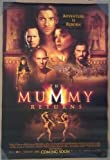 THE MUMMY RETURNS MOVIE POSTER 2 Sided ORIGINAL 27x40...