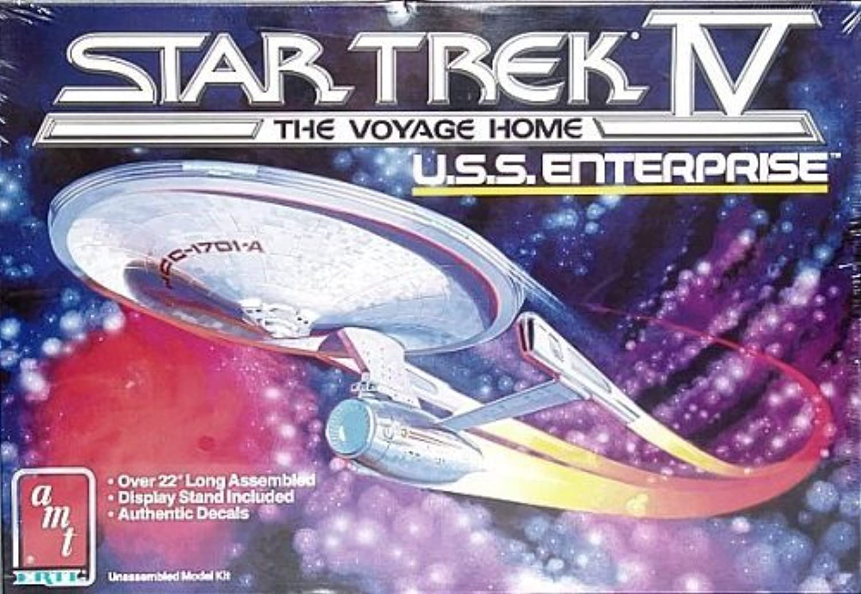 Star Trek - IV - The Voyage Home - U.S.S. Enterprise (NCC-1701-A) Bausatz (1986) über 55 cm