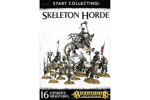 Games Workshop 99120207037' Warhammer Age of Sigmar Start Collecting Skeleton Hordes Action Figure