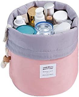 YJYdada Cosmetic Jewelry Wash Hanging Toiletry Makeup Travel Storage Bag Case (Pink)