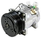 Dirty Dingo Sanden 508 7 Piston 6 Bolt Head A/C Compressor Satin Finish