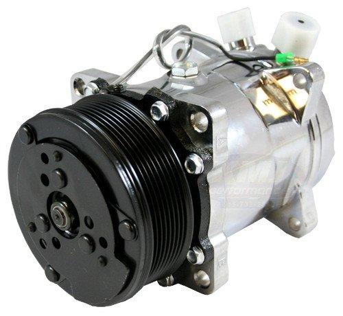 Dirty Dingo Sanden 508 7 Piston 6 Bolt Head A/C Compressor Satin...