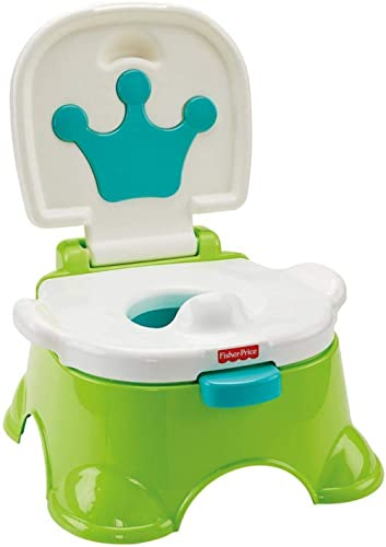 Fisher-Price Pot musical Royal Estrade pour bébé, transformable en marchepied, dès 3 ans, DLT00