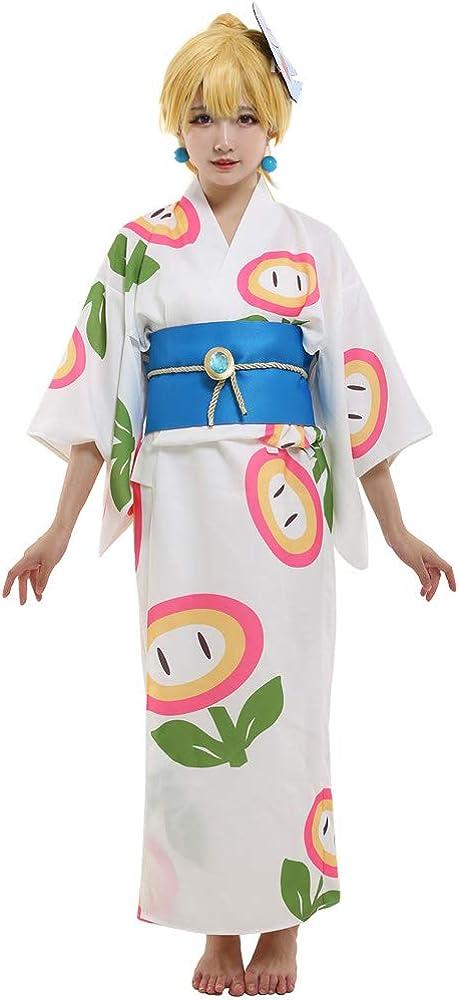 Coskidz Women's Princess Peach Cosplay Max 52% OFF lowest price Kimono Costume