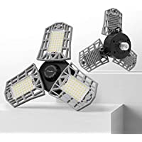 2-Pack Freelicht LED Garage Light 60W LED Shop Light (Silver)