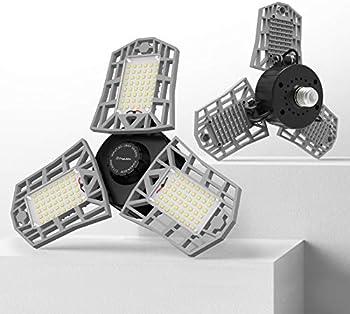 2-Pack Freelicht LED Garage Light 60W LED Shop Light