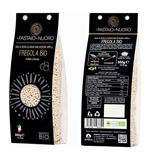 12 x 500 gr - Fregula sarda Bio grano Cappelli - Pastificio Artinpasta. Originaria del Campidano, la...