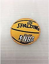 小型刺繍ワッペン(CT) (バスケットボール)アイロンワッペン 刺繍、エンブレム、大人気、オシャレ