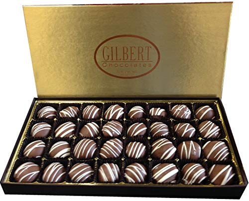 Gilbert Chocolates Milk Cherry Cordials - 18 ounces of liquid cherry center goodness