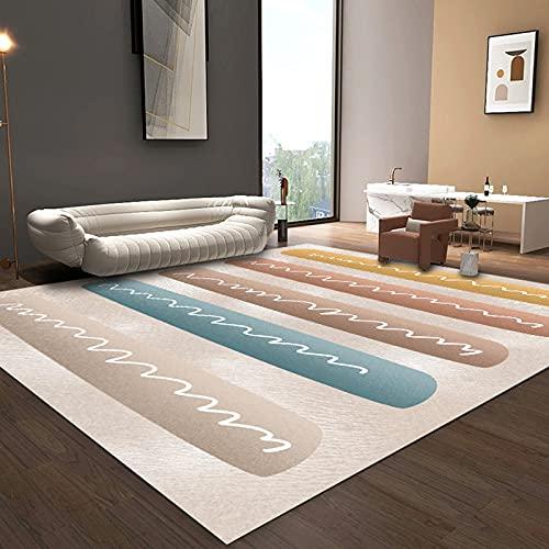 N\W Alfombra grande para decoración del hogar del norte de Europa Alfombras para sala de estar, dormitorio, alfombra antideslizante para puerta de baño, cocina, pequeñas alfombras lavables
