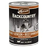 Merrick Backcountry Chunky Venison + Beef In Gravy Grain...