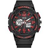 Marca de Moda para Mujer Relojes Deportivos LED Reloj Digital de Cuarzo Militar Reloj para Hombre niño niña Estudiante Reloj de Pulsera Multifuncional