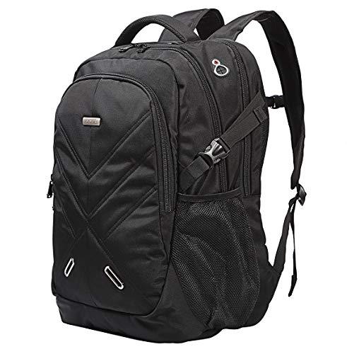 Ronyes Notebookrucksack Backpack Regenschutz wasserdichte Stoßfest Reiserucksack (18,4 Zoll)