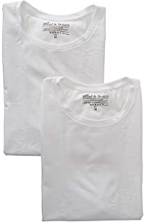 Bread and Boxers Organic Cotton Stretch Slim Fit T-Shirts - 2 Pack (121)