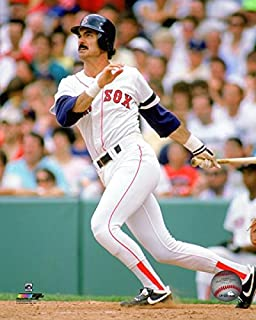 Dwight Evans Boston Red Sox MLB Action Photo (Size: 8