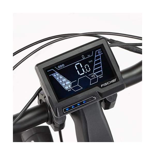 51Nc2p+u7xL. SS600  - Fischer E-Bike City CITA 3.1i, schwarz oder weiß matt, 28 Zoll, RH 44 cm, Mittelmotor 50 Nm, 48V Akku im Rahmen