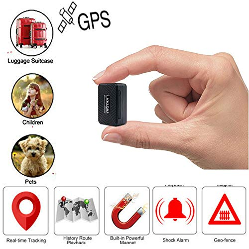 Mini rastreador GPS, Winnes Mini GPS tracker dispositivo de seguimiento antirrobo anti perdido para niños, ancianos, billetera, equipaje