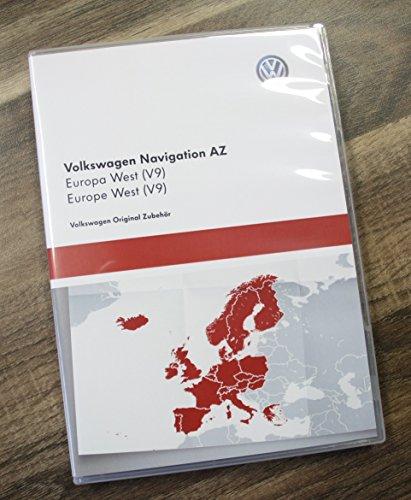 Original VW Volkswagen Navi Navegación datos V9Europa West–Update para RNS 315