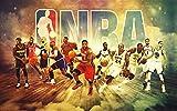 Decorsy Rompecabezas Puzzle 1000 Piezas Adultos Jugadores De Baloncesto Posando Regalos Divertidos De Juguetes Educativos para Niños