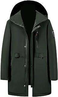 KAIXLIONLY Women Men Heated Jacket, Warm Down Jacket USB Charging Heated Coat Ski Hooded Jacket Waterproof & Windproof